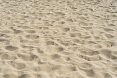 Sand on the beach as background Royalty Free Stock Photography