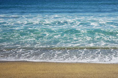 Sand beach background Stock Photography