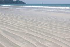 Sand beach for background Stock Photos