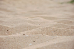 Sand on beach Royalty Free Stock Photography