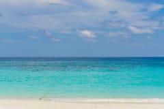 Sand and beach with blue sky, Lipe island Stock Photos
