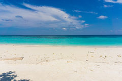 Sand and beach with blue sky, Lipe island Stock Image