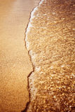 Sand of beach caribbean sea Royalty Free Stock Photos
