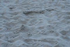 Sand on a beach. Sand on the beach of Danang, Vietnam stock photos