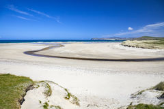 Sand beach at Donegal Ireland Stock Images