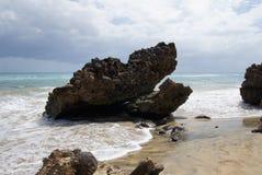 Sand beach on Fuerteventura Royalty Free Stock Photos