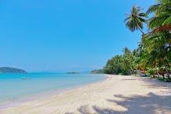 Sand beach on an island in Thailand Stock Photography