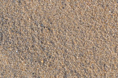 Sand on the beach at kalim beach in phuket.  Royalty Free Stock Images
