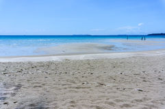 Sand beach of Koh Kood, Thailand sea Royalty Free Stock Photos