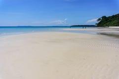 Sand beach of Koh Kood, Thailand sea Royalty Free Stock Image