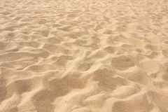 Sand of a beach Royalty Free Stock Images