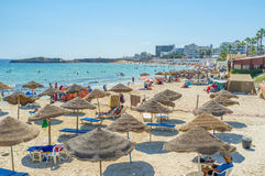 The sand beach Stock Image
