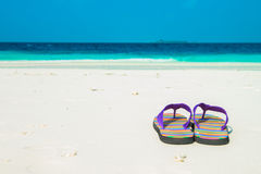Sand beach and ocean wave, South Male Atoll. Maldives Stock Images