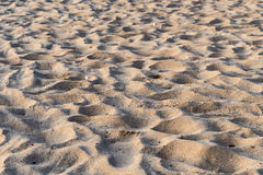 Sand beach pattern closeup for Abstract Background Royalty Free Stock Photography