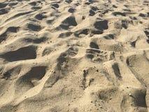 Sand on beach, Punta Ala, Tuscany, Italy Stock Image