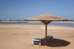 Sand beach on Red Sea Stock Image