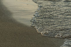 sand beach at the sea royalty free stock photography