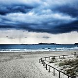 Sand beach sea Island villasimius Royalty Free Stock Photography
