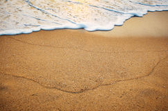 Sand on the beach Royalty Free Stock Image