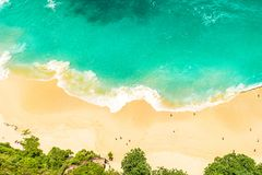Sand beach sea water Summer holidays travel background royalty free stock images
