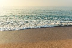 Sand of beach  sea Royalty Free Stock Images