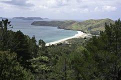 Sand Beach, Sky and Ocean Royalty Free Stock Photo