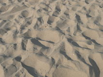 Sand beach texture Royalty Free Stock Images