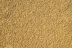 Sand of a beach with rain holes. Sand of a beach of th Baltic sea with rain holes royalty free stock image