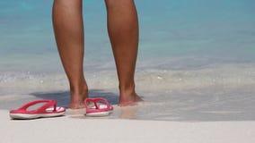 Sand beach , South Ari Atoll , Maldives Stock Photography