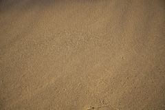 Sand on the beach Royalty Free Stock Images