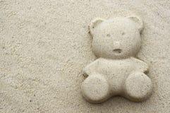 Sand bear Royalty Free Stock Photo
