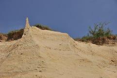 Sand berg stock image