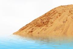 Sand-Beschaffenheit Stockfotografie