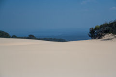 Sand Blow royalty free stock images