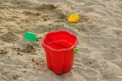Sand-box Fotografie Stock Libere da Diritti