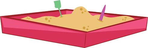 Sand Box Stock Image