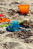 Sand box toys Stock Photos