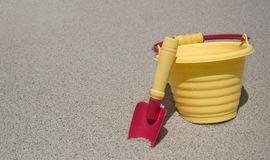 Sand Bucket stock photography