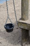 Sand bucket. Bucket chain on the playground equipment Royalty Free Stock Images
