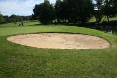 Sand-Bunker Stockbild