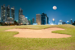 Free Sand Bunker Royalty Free Stock Photos - 44206138
