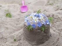 Sand cake Stock Image