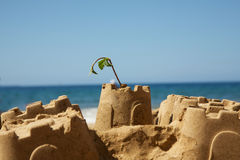 Sand Castle Royalty Free Stock Images