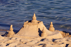 Sand Castle 2. A photo of Sand Castle on the beach Royalty Free Stock Image