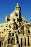 Sand castle. A castle made of sand