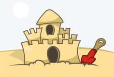 Sand Castle Royalty Free Stock Photos