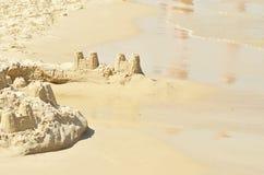 Sand castle Stock Photo