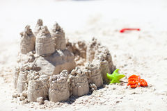 Sand castle Stock Photography