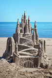 Sand Castle vertical Royalty Free Stock Photos