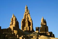 Sand Castles Stock Photo